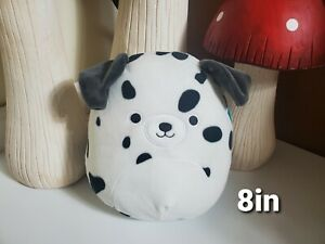 8in Dustin Dalmatian Dog Squishmallow