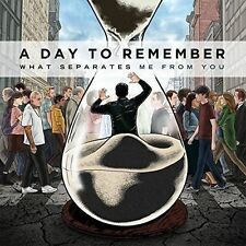 A DAY TO REMEMBER WHAT SEPARATES ME FROM YOU NEW VINYL RECORD
