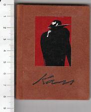 Livre miniature hongrois Minikönyv - Tandi Lajos: Kass János grafikái 1992