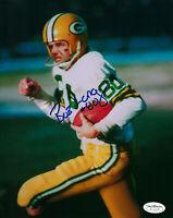 PACKERS Bob Long signed 8x10 photo w/ #80 AUTO JSA SOA Autographed SB I & II