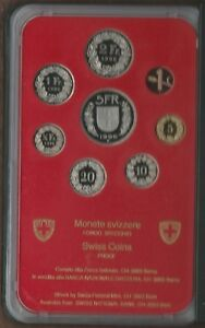 Zwitserland 1996 PROOF set. Switzerland Suisse Svizzera Schweiz