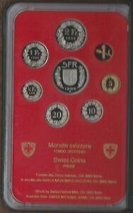 Zwitserland 1996 PROOF set. Switzerland Suisse Svizzera Schweiz
