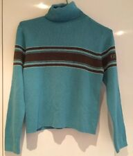 GUESS - Girl's - Blue Turtle Neck Jumper - Size S (7-8 yrs)