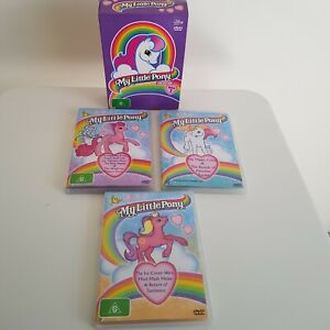 My Little Pony DVD Collection 2 discs are Vol 2 and one is general 1986 Series