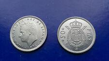 MONEDA 50 PESETAS REY 1975 Estrella *80 S/C Rey Juan Carlos I  ESPAÑA
