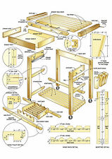 Carpentry Woodwork Business 20gb 5 Dvd 11111 Plans Blueprints Cabinet Shelve