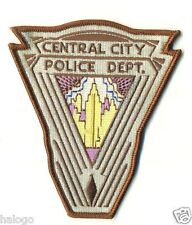 THE FLASH  - CENTRAL CITY POLICE PATCH - FLASH4