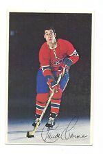 RARE 1970S  MONTREAL CANADIENS CLAUDE LAROSE POSTCARD  CARD