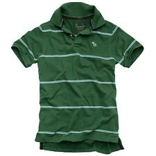 ABERCROMBIE GREEN BLUE STRIPES JUST IN SIZE SMALL