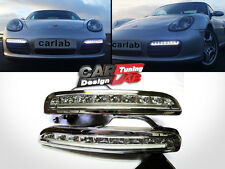 LED Daytime DRL Bumper Driving Light Lamps For 2005-2008 Porsche Boxster 987