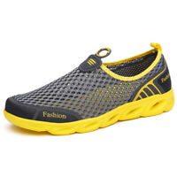 Men's Women Water Shoes Lightweight Breathable Outdoor Slip on Runnning Shoes