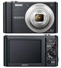 Sony Cyber-shot DSC-W810 20.1MP Digital Camera - Black