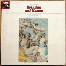 STRAUSS • ARIADNE A NAXOS • JANOWITZ • KEMPE • 3 LP BOX • VG+/NM- • EMI SLS 936