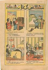 Humour TSF Casque-Radio Appareil Château Ventouses Grésillement NewYork 1932