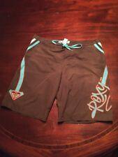 Roxy Brown Women's (11) Board Shorts. TL8