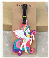my little pony Princess Celestia silica gel luggage tags Baggage  travel tags cu