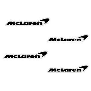 3M McLaren Brake Caliper Vinyl Decals - Set of 4 - You Choose Color! FREE SHIP!