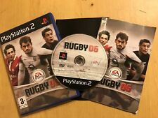 PAL PLAYSTATION 2 PS2 GAME EA SPORTS RUGBY 06 / 2006 +BOX INSTRUCTIONS /COMPLETE