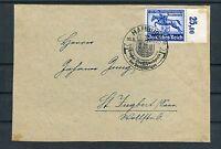 Briefvorderseite DR Mi.-Nr. 746 als EF Hamburg-St. Ingbert - b3548
