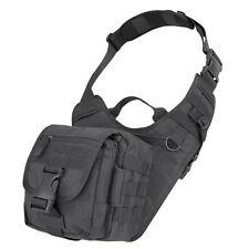 Condor 156 BLACK Everyday Carry Shoulder Bag MOLLE Modular EDC Tactical Satchel