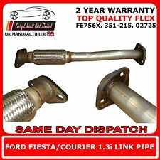 FE756X Ford Fiesta, Courier 1.3i Replacement Exhaust Flexi Link Pipe 1995-2002