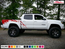Decal Sticker Graphic Vinyl Side Bed Mud Splash Kit for Toyota Tacoma Tailgate