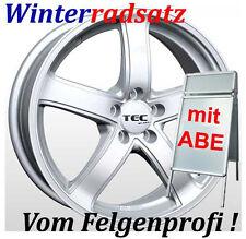 """16"""" TEC Silber Winterräder Winterreifen 205/55 für VW Golf 6 VI Variant 1KM"""