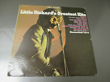 1967 Little Richard's Greatest Hits Live LP VG+/VG SIGNED OKS 14121 w/ 3 pg Bio