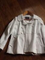 Ladies Ivory/ Cream Winter Coat.size 12