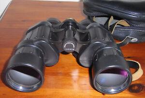 Optolyth Alpin 7 x 42 West German Binoculars Nice condition Sharp Clear Optics