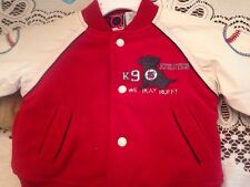Baby Q K9 Dog  Athletics Winter Jacket Size 12 months...pre-owned