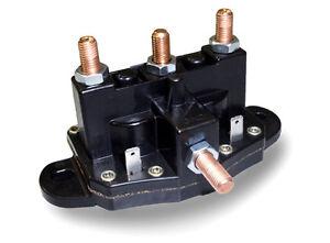 GENUINE Cole Hersee 24450 12V Motor Reversing Solenoid Winch Solenoid DPDT