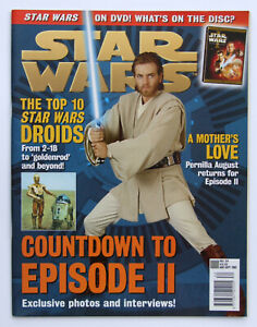 Star Wars: The Official Magazine #34 Aug/Sep 2001 (Pernilla August, Eric Walker)