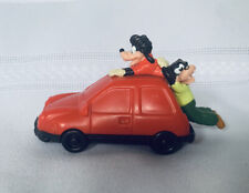 Burger King Kids Toy Goofy Movie Adventure Toy Goofy & Max Hanging On Car Figure