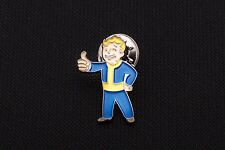 2008 Fallout 3 Vault Boy Best Buy Metal  Pin -  4 New Vegas Limited