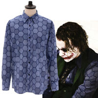 The Dark Knight:The Joker Heath Ledger Cosplay Costume Long Sleeve Daily Shirt