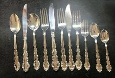 Vintage Silver Plated Cutlery 80 pieces 6-8 Setting