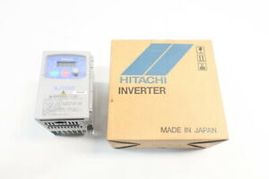 Hitachi SJ100-007LFR Ac Vfd Drive 200-230v-ac 1-360hz 200-230v-ac 1hp