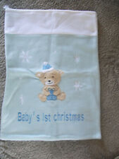 **Baby's 1st Christmas Sack Great Condition**