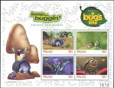 "Palau 1998 ""Bug's Life""/Disney/Films/Cinema/Animation/Insects 4v sht (b437p)"
