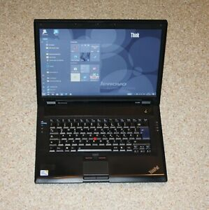 "LENOVO ThinkPad SL500 15,4"" Win®10/64 HDD-160GB RAM-3GB"