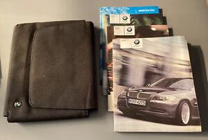 BMW 3 SERIES SALOON OWNERS MANUAL HANDBOOK & FOLDER BOOK PACK SET E90 2004-2011