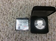 Steve Young  .999 HIGHLAND MINT  1 OZ SILVER COIN solid silver coin 7034/7500