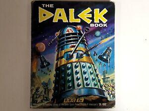 Vintage Doctor Who Dalek Book Annual 1965 *Damaged*