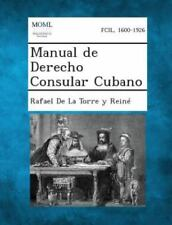 Manual de Derecho Consular Cubano (Paperback or Softback)