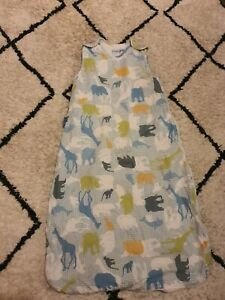 Gro Company Grobag/Baby Sleeping Bag 6-18 Months 2.5 tog safari animals boys
