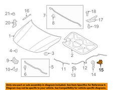 KIA OEM 11-18 Optima Hood-Handle Base 811802T000