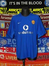 5/5 Manchester United adults L 2002 third football shirt jersey trikot soccer