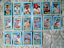 1974 3D Kellogg's baseball card lot great condition Bob Gibson Fisk Morgan