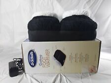 Dr Scholls Soothing Foot Warmer W/Vibration Black Memory Foam DRMA7801BKS1